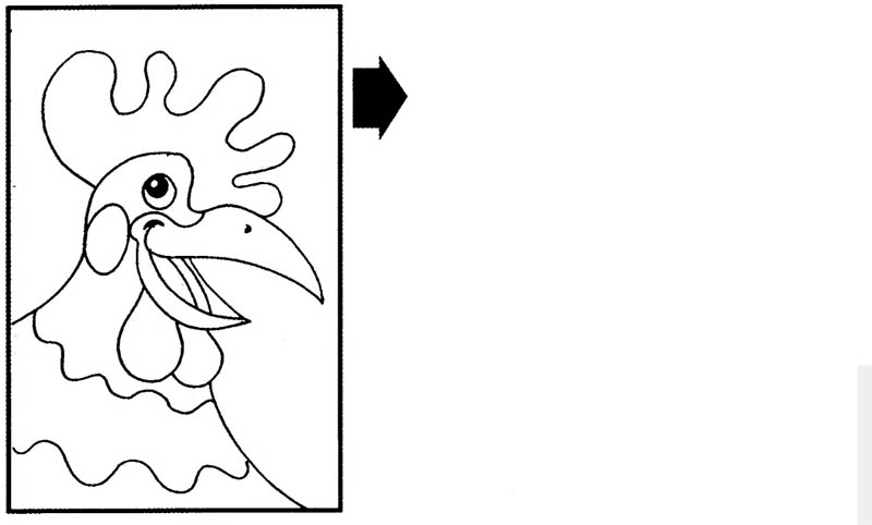 Скопируй рисунок, затем раскрась: tests.kulichki.com/golovolomki/coloring/12.html